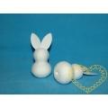 Menší bílý zajíc - 1 figurka
