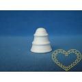 Vatový zvoneček 28 x 32 mm - 1 kus