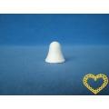 Vatové zvonečky (23 x 23 mm) - sada 20 kusů