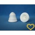 Vatové zvonečky (43 x 43 mm) - sada 10 kusů