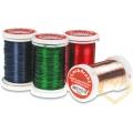 Červený a zelený drátek - ø 0.35 mm, délka 50 m