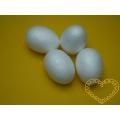 Polystyrenová vajíčka 40 x 60 mm - sada 25 kusů