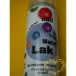 Matný lak ve spreji - 250 ml - na různé povrchy
