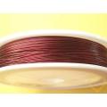 Červený drát Tiger Tail - návin 100 m
