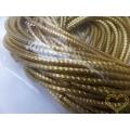 Zlatý ozdobný stočený drát bouillon 100 g