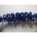 Modrá žinylka s drátkem - 4 m