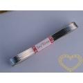Lámová stuha stříbrná délka 3 m, šíře 1 cm