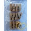 Dřevěné kolíčky 2,5 cm - sada 24 kusů