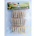 Dřevěné kolíčky 3,5 cm - sada 24 kusů