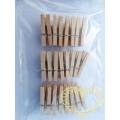 Dřevěné kolíčky 3 cm - sada 24 kusů