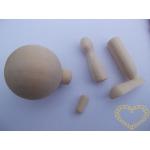 Dřevěná ručička - loutka