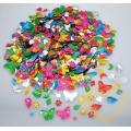 Flitry - barevné tvary 100 g