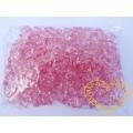 Velké růžové plastové kamínky - 500 g