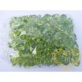 Velké zelené plastové kamínky - 500 g