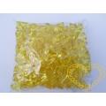 Velké žluté plastové kamínky - 500 g