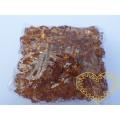 Velké hnědé plastové kamínky - 500 g