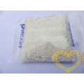 Mini bílé skleněné korálky 1,7 mm - 50 g