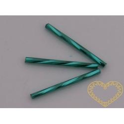 Tyrkysový rokajl - čípky - 3 cm - 20 g