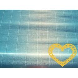 Krepový papír silný - modrá duha