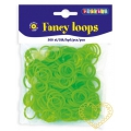 Gumičky loops zelené - 500 ks