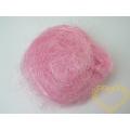 Sisal růžový - 100 g (kokosové vlákno)