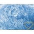 Sisal světle modrý - 100 g (kokosové vlákno)