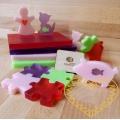 Kreativní sada pro výrobu originálních mýdel - dívčí barvy