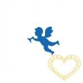Menší děrovačka - anděl - raznice