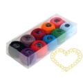 Bavlněná příze - sada 10 barev