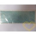 Modré nalepovací perličky 6 mm - 504 ks