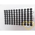 Černé nalepovací perličky  ø 8 mm 88 ks