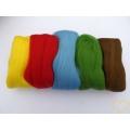 Ovčí rouno barvené - vlna sada 5 barev 50 g