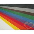 Plsť - filc dekorační - sada 10 barev