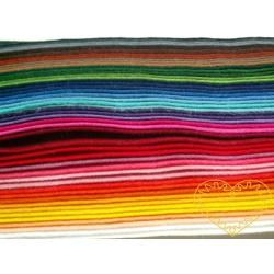 Plsť - filc dekorační - sada 50 barev