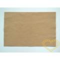 Tmavě tělová plsť - dekorační filc 30 x 20 cm - 1 ks