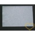 Bílá plsť - dekorační filc 30 x 20 cm - 1 ks