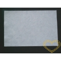 Silná bílá plsť 3 mm - filc 30 x 20 cm - 1 ks