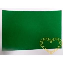 Zelená samolepící plsť - 30 x 20 cm