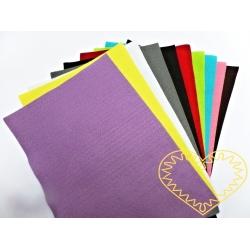 Plsť sada č. 2 - filc dekorační - 10 barev