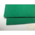 Silná zelená plsť - dekorační filc 30 x 20 cm - 1 ks