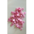 Kytky z pěnové gumy růžové - 100 ks