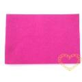 Plsť / filc - ostře růžová barva - 30 x 20 cm