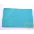 Plsť / filc - tyrkysová barva - 30 x 20 cm