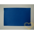 Modrá samolepící plsť - 30 x 20 cm