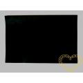 Černá samolepící plsť - 30 x 20 cm