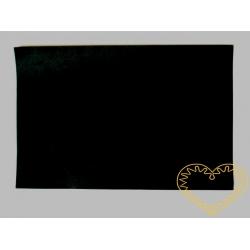 Černá plsť - 30 x 20 cm