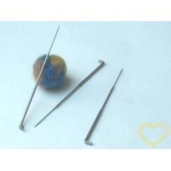Plstící jehla - kovová jehla na plstění - střední
