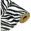Zebra - plsť v roli 0,45 x 5 m