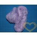 Umělé vlákno fialové - polyester