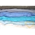 Ovčí rouno modrá sada - vlna 6 barev 100 g